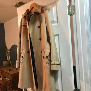 New Zara long trench coat
